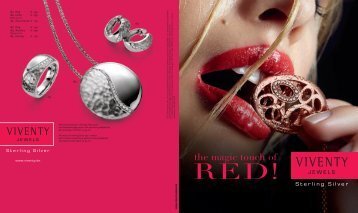 Katalog 2013 The Magic Touch of RED PDF, 2.1 ... - VIVENTY Jewels