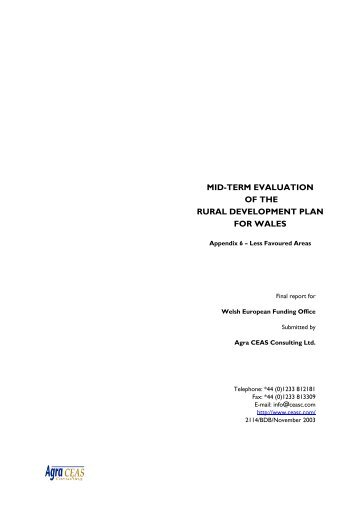 A6 LFA annex.pdf - Agra CEAS Consulting