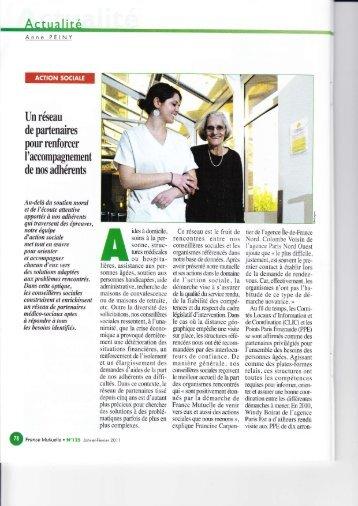 2011-01_France Mutuelle partenaire des Réseaux de santé ... - Fregif