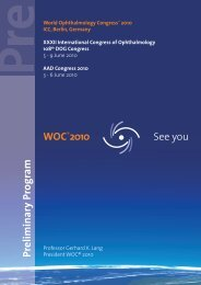 Prelim inary Program - WOC®2010 Berlin 5