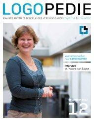12december 2012 - Logopedie.nl
