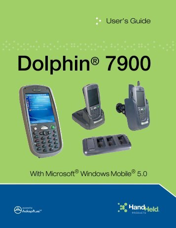 Dolphin 7900 User's Guide - Finn-ID