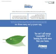 Natural Gas: The Smart Choice for Environment - Atmos Energy