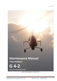 Maintenance Manual Rev 3.0 on 09-04-2013 - Trixy Aviation