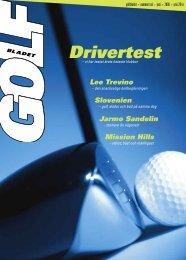 Drivertest - Golfbladet