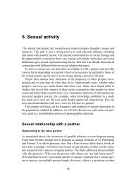 5. Sexual activity
