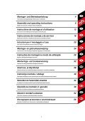 und Betriebsanleitung Assembly and operating instructions ... - Page 3