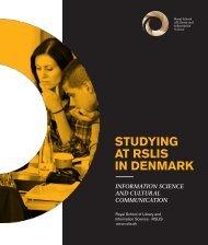 STUDYING AT RSLIS IN DENMARK - IVA