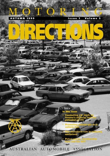 MOTORI NG AUTUMN 1999 Issue 1 Volume 5 - Australian ...