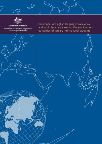 The impact of English language proficiency and workplace ...