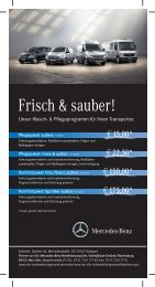 Angebot zum Download - Mercedes-Benz Niederlassung Ulm ...