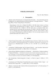 publikationsliste - Institut für internationales und ausländisches ...