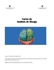 Curso de Análisis de Riesgo - Veterinaria Argentina