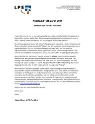 Download March 2011 Newsletter - London Petrophysical Society