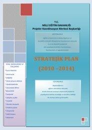 stratejik plan - Dış İlişkiler Genel Müdürlüğü - Milli Eğitim Bakanlığı