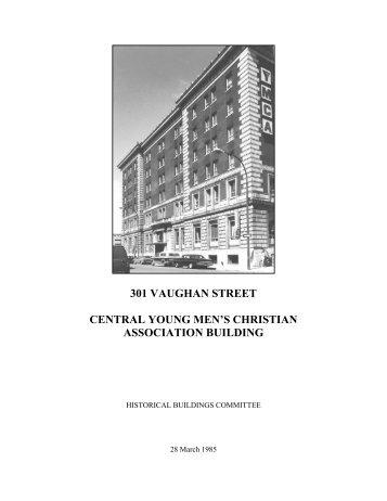 301 vaughan street central young men's christian ... - City of Winnipeg
