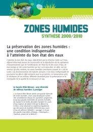 Zones humides - Agence de l'Eau Rhin-Meuse