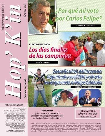¿Por qué mi voto por Carlos Felipe?