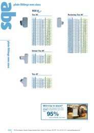 ABS Fittings - MM Sizes - IPS Flow Systems