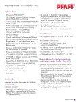 Nähanleitung für den ambition™ Quilt im pdf-Format ... - Pfaff - Seite 2
