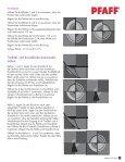 Nähanleitung für den ambition™ Quilt im pdf-Format ... - Pfaff - Seite 6
