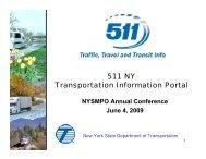 511 NY Transportation Information Portal - New York State ...