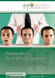 Strategisches Beschaffungsmanagement - HSP GRUPPE
