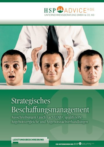 Strategisches Beschaffungsmanagement - HSP GRUPPE