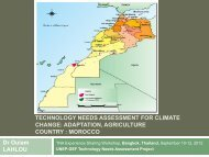 adaptation, agriculture country : morocco - Welcome - Technology ...