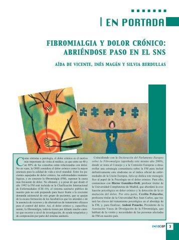 fibromialgia y dolor crónico - Consejo General de Colegios Oficiales ...