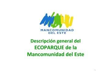 presentación del proyecto ecoparque de gestión de residuos de la ...