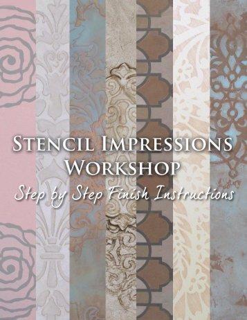 Stencil Impressions - S - Modello Designs