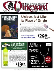 1999 - Brown Derby International Wine Center