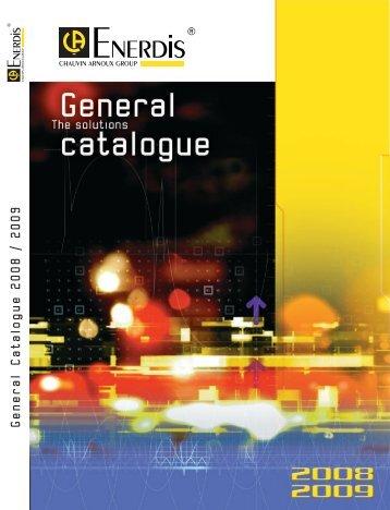 General Catalogue 2008 / 2009 - CA Mätsystem AB
