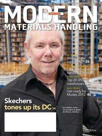 Modern Materials Handling - December 2011
