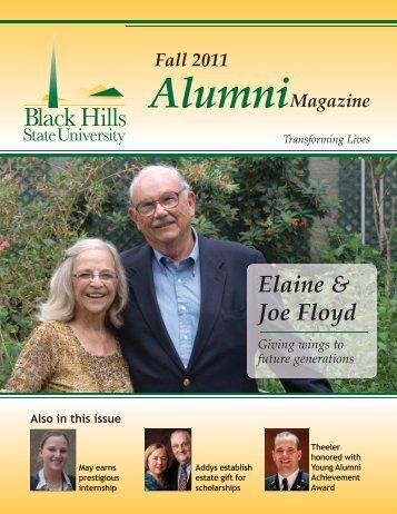 Fall 2011 Alumni - Black Hills State University