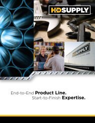 End-to-End Product Line. - HD Supply