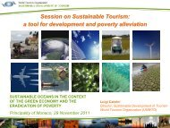 Sustainable Tourism - Stakeholder Forum