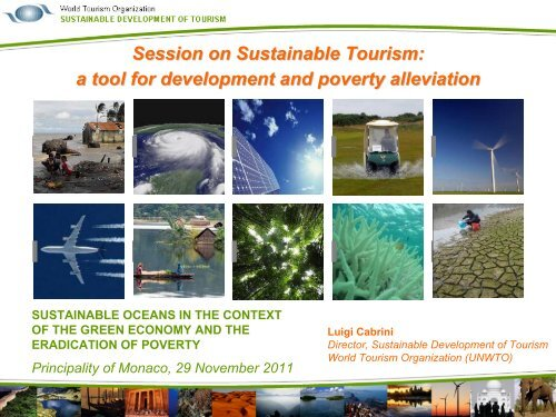 Sustainable Tourism - Stakeholder Forum