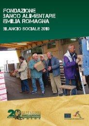 Bilancio Sociale 2010.pdf - Fondazione Banco Alimentare