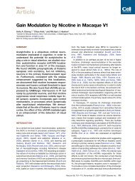 Article - Systems Neurobiology Laboratory