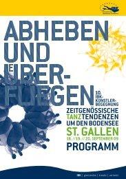 st. gallen - 12. IBK-Künstlerbegegnung
