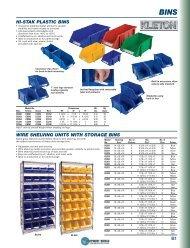 HI-STAK PLASTIC BINS - Equipment World Inc.