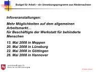 Vortrag von Detlev Jähnert - Behindertenbeauftragter des Landes ...