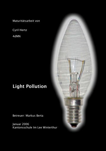 Light Pollution - c-hertz.ch