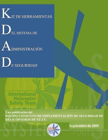 KIT DE HERRAMIENTAS ADMINISTRACIÓN DE SEGURIDAD - IHST