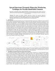 Spread-Spectrum Chromatic Dispersion Monitoring Technique for ...