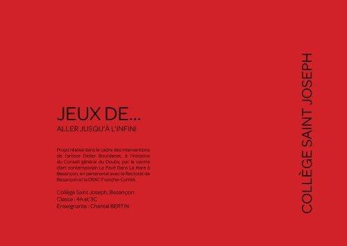 JEUX DE...