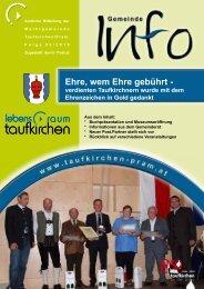 verschiedene informationen - Taufkirchen an der Pram