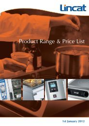 Lincat UK Price List January 2012 - CESA